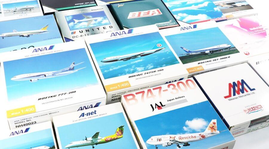ジェミニジェッツ・全日空商事・フェニックスなど飛行機模型多数お買取させていただきました!
